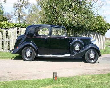 1939 Rolls Royce Silver Wraith