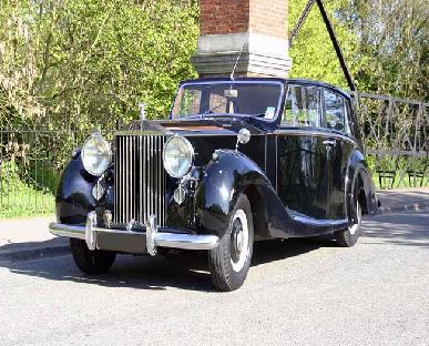 1952 Rolls Royce Silver Wraith